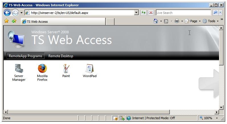 Windows Web Server 2008