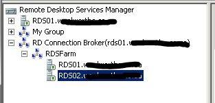 Консоль Remote Desktop Services Manager