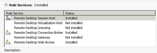 Настройка сервера терминалов Remote Desktop