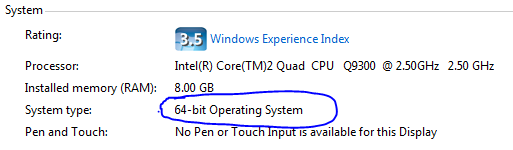 версия Windows 7