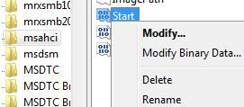 Включаем AHCI в Windows7