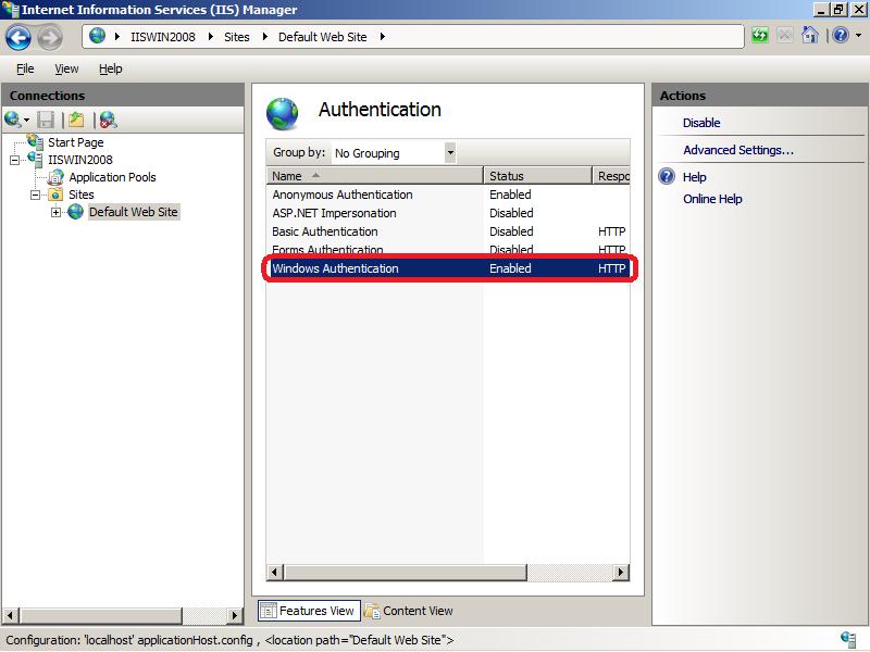 Аутентификация в WebDAV