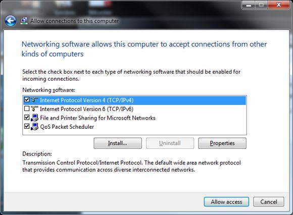 настройка сервера vpn в windows 7