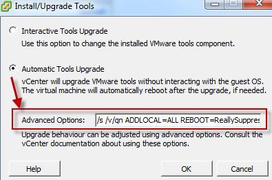 Как обновить VMware Tools без перезагрузки