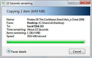Скорость передачи по USB до