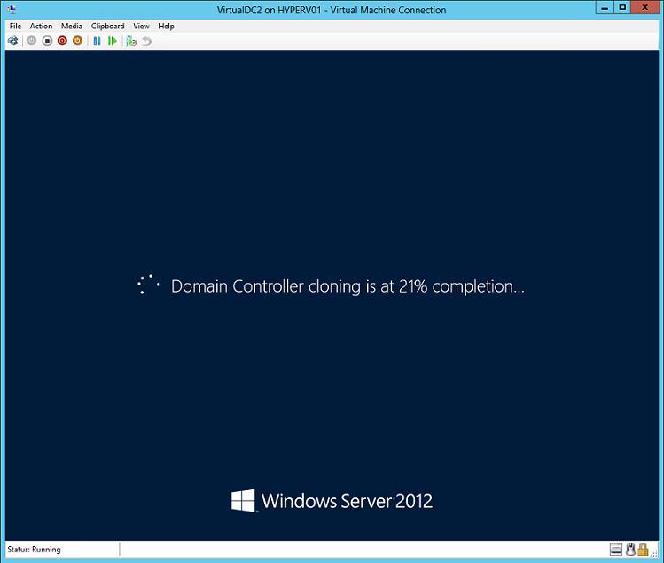 клонирование контроллера домена в windows server 2012
