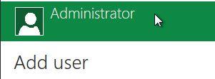 Встроенный администратор в windows 8