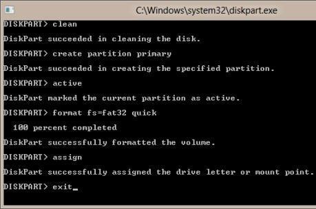 Форматируем загрузочную флешку windows 8