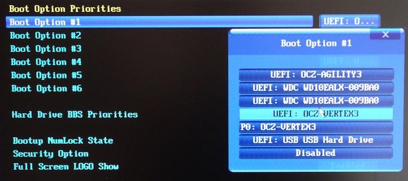 Загрузочная флешка с windows 8 для UEFI