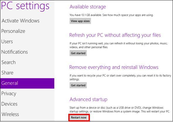 windows 8 войти в загрузочное меню