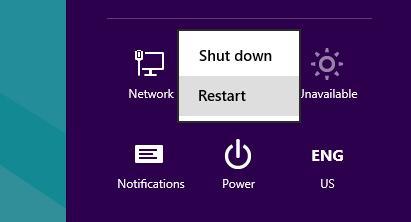 windows 8 войти в загрузочное меню через Shift