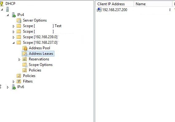 Перенос службы dhcp на новый сервер windows 2012