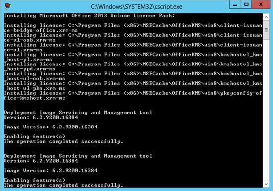 Установка пакета Microsoft Office 0013 Volume License Pack