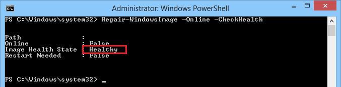 Восстановление хранилища компонентов (component store ) в windows 8