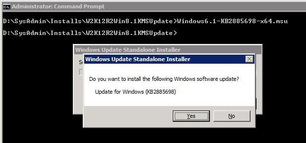 KB 2885698 обновление для kms сервера для поддержки windows 8.1 и windows server 2012 r2