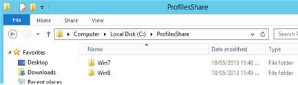 Проблемы совместимости при миграции перемещаемых профилей между windows 7 и windows 8