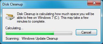 windows 7 поиск неиспользуемых обновлений