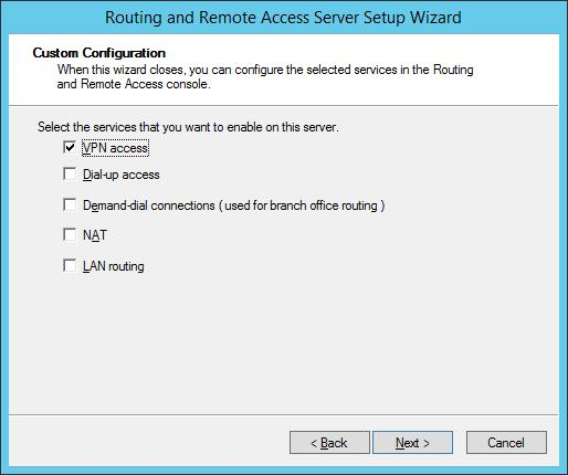 Служба vpn access