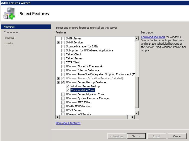 Установка WSB из GUI