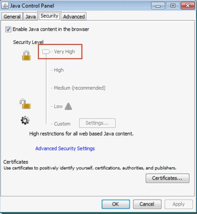 how to find java control panel in windows 7