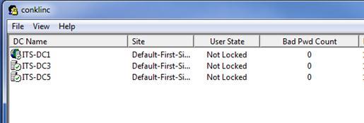 Утилита для мониторинга блокировок учеток Microsoft Account Lockout and Management Tools