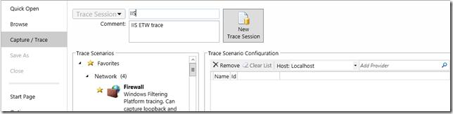 Захват логов IIS 8.5 с помощью Message Analyzer
