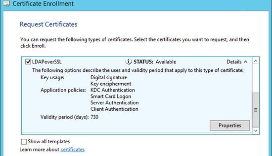 Выпустить сертификат