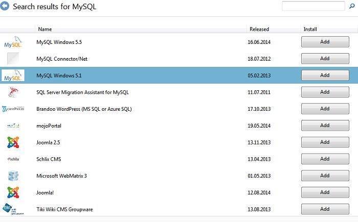 Установка MySQL на Windows Server 2012 / Windows 8