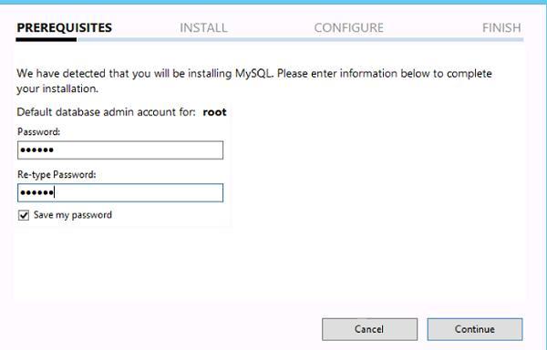 mysql задать пароль root