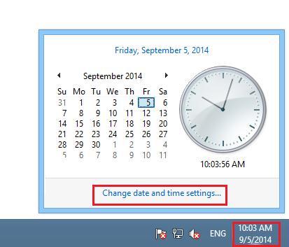Windows 8 как изменить часовой пояс из графического интерфейса