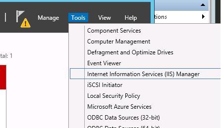 Консоль управления IIS (Internet Information Service Manager)