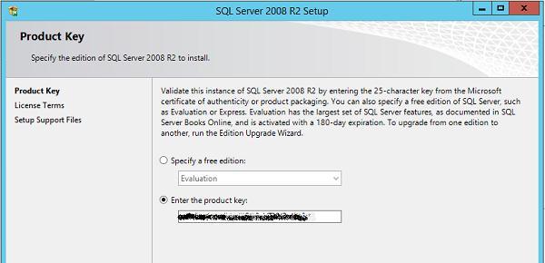 Получаем vlk ключ активации sql server 2008 r2 standart