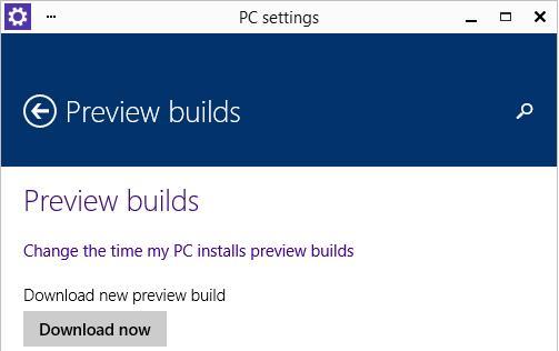 windows 10 TP обновление версии preview build