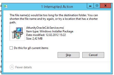 Ошибка удаления файла с большой длиной пути