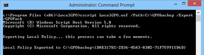 Формат переноса настроек GPO между компьютерами gpopack