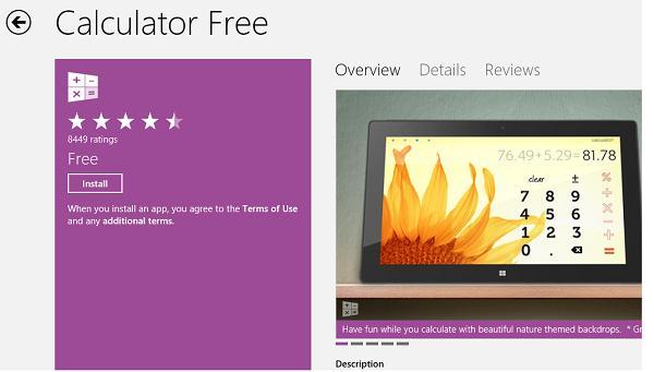 Установка приложения из Windows Store