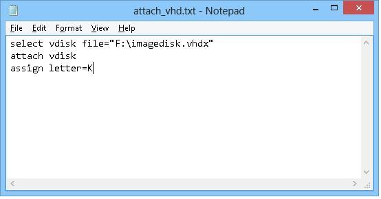 Автоматическое монтирование VHD дисков в Windows