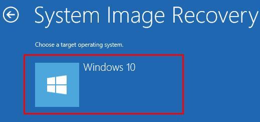 Восстановить Windows 10 из образа