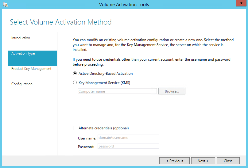 Active Directory-Based Activation - тип активации MS Office2016
