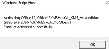 office16kmshostvl_kms_host - успешная активация kms сервера