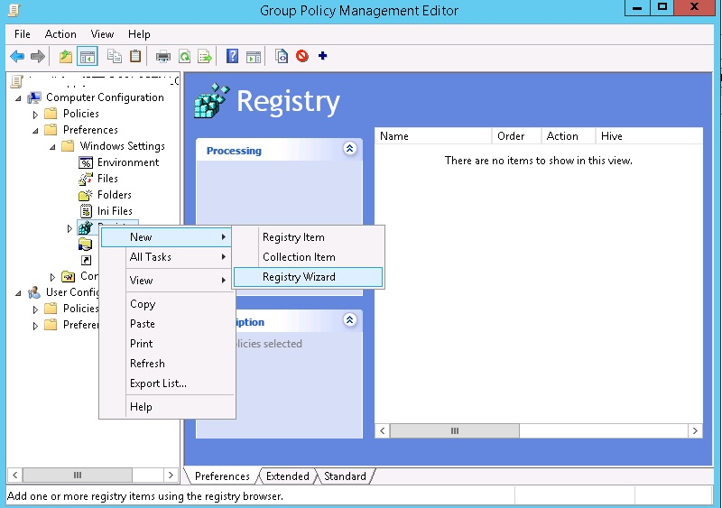 Registry: Access to the Windows Registry