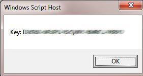 Извлекаем ключ активации Office с помощью vbs