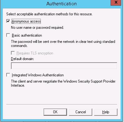 SMTP аутентфикация - анонимный доступ