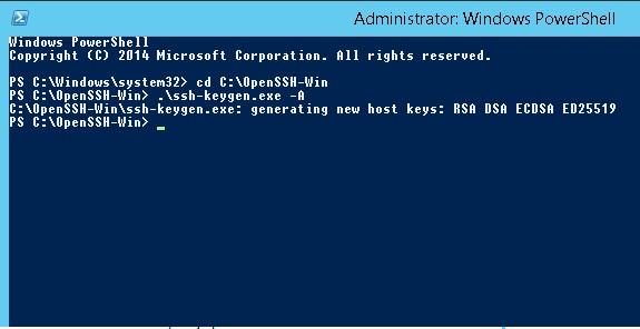 Установка OpenSSH на Windows Server