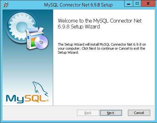 MySQL .NET Connector