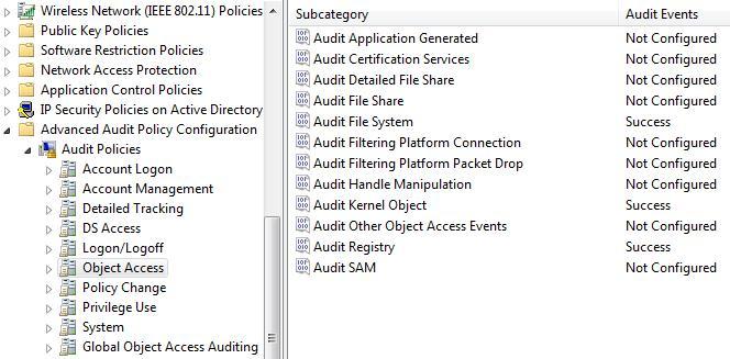 Audit File System - аудит доступа к файлам