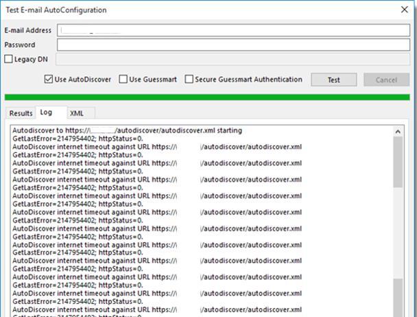 Медленный Exchange Autodiscover в Outlook 2016 | Windows для