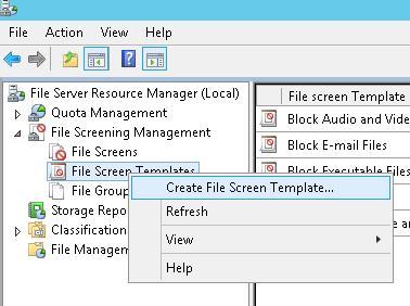 шаблон скрининга файлов