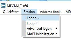 mfcmapi - загрузить профиль outlook